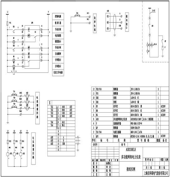 安科瑞acr系列网络电力仪表_多功能测试仪_电工仪表