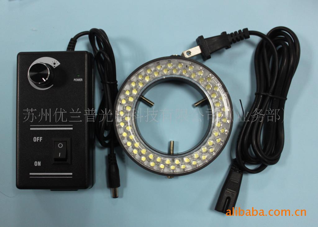 显微镜LED灯 辅助光源 LED显微镜灯60颗 可调亮度