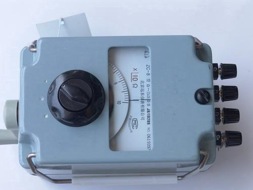 接地电阻表zc-8 100欧 zc-8 1000欧