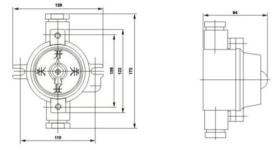 供应bzm-10系列防爆照明开关,防爆电器,防爆灯