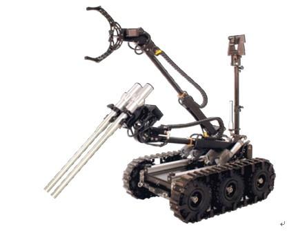单体底盘设计,使得机器人可在恶劣气候和地理