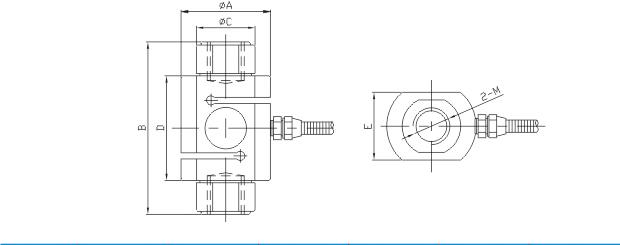 柱式拉压力传感器,柱式传感器