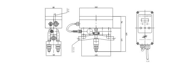 一、概述: BCQ-GL型起重量限制器是我公司专业生产的起重机械安全保护装置,专门用于各种规格的单梁式起重设备。该装置能直观显示起吊重物重量并具有预警、报警、切断起重机电源控制上升等功能,可避免起重设备因超载造成的设备和人身事故。因此它对冶金、机械、矿山、铁路、码头、仓库等行业现代化安全生产,具有极其重要的意义。 该产品在设计上采用了先进的计算机技术,有自动校核检查和零点自动跟踪能力,具有功能强,结构紧凑、操作校准方便、工作稳定、安装维修方便等优点。 二、限制器的主要特点 2.