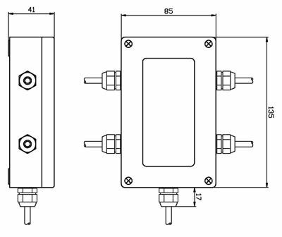 变送器把传感器信号经放大电路的转变,直接输出标准的电压(0—5v)