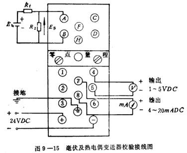 怎样校验电阻体温度变送器