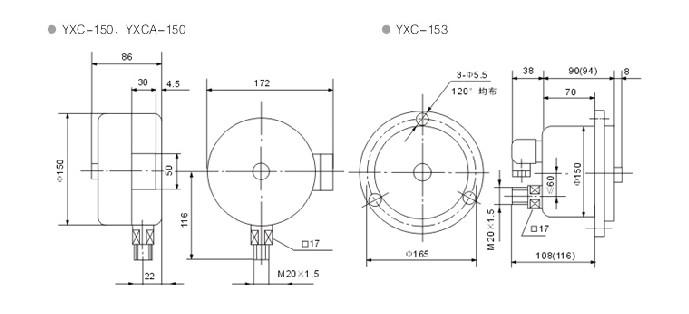 yx电接点压力表,电接点压力的使用
