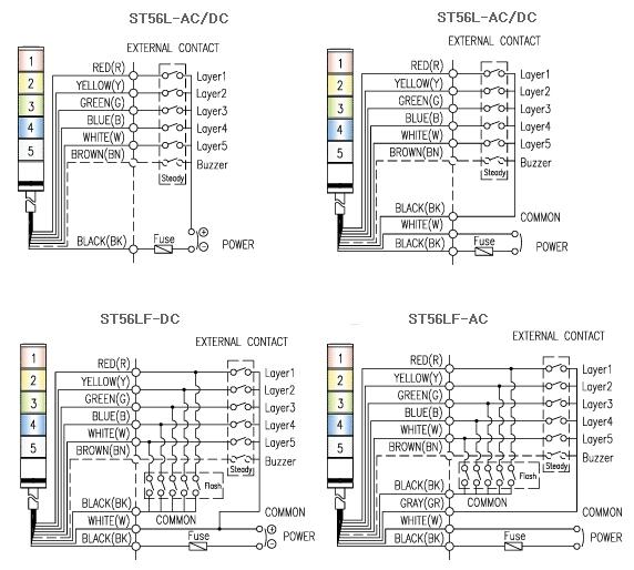 st401n接线图