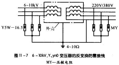 配电变压器的防留保护措施