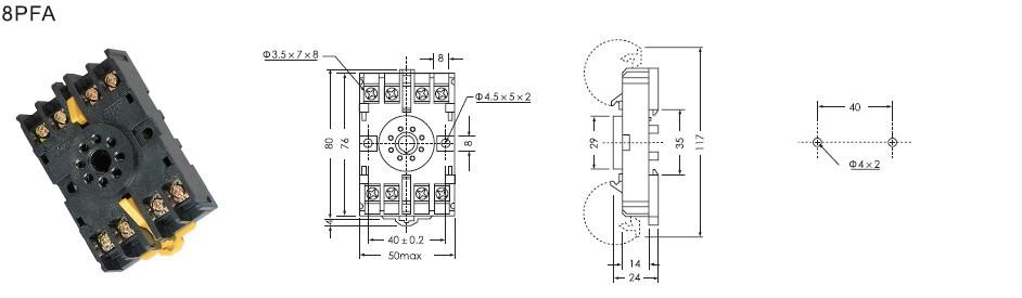 相位(相序)及电压过载保护继电器