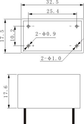 hhg1系列电路板式固体继电器采用阻燃