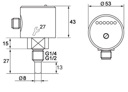 热质式水流开关,浮球开关,压力变送器