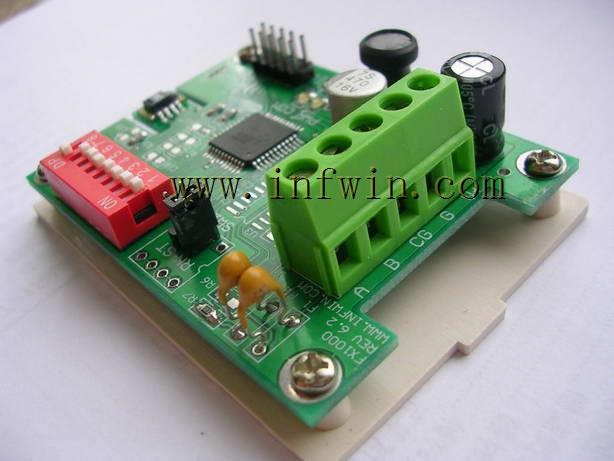 气压传感器位于线路板背面