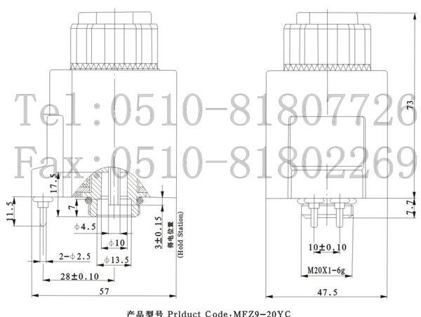 使用注意事项 电磁铁采用符合ISO4400标准的插座。有带指示灯、不带指示灯两种规格,您可以根据需要进行选择。带指示灯插座的电压规格多须与电磁铁本体电压规格相符。 电磁铁的手动推杆用于在调试时或紧急情况下,进行手动控制。但当系统背压较高,调节困难时,请使用十字螺丝刀缓推手动推杆,不宜使用冲击力,以免破坏手动推杆和导向内孔表面,造成电磁铁漏油或不能复位。 当双向使用电磁铁时,一定要保证两个电磁铁不能同时通电,以免电磁阀不能正常工作。 电气控制系统与电磁铁连接部分之间应设有过流保护装置,以免非正常情况下,烧