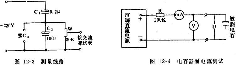 电容器漏电流的测试和处理方法