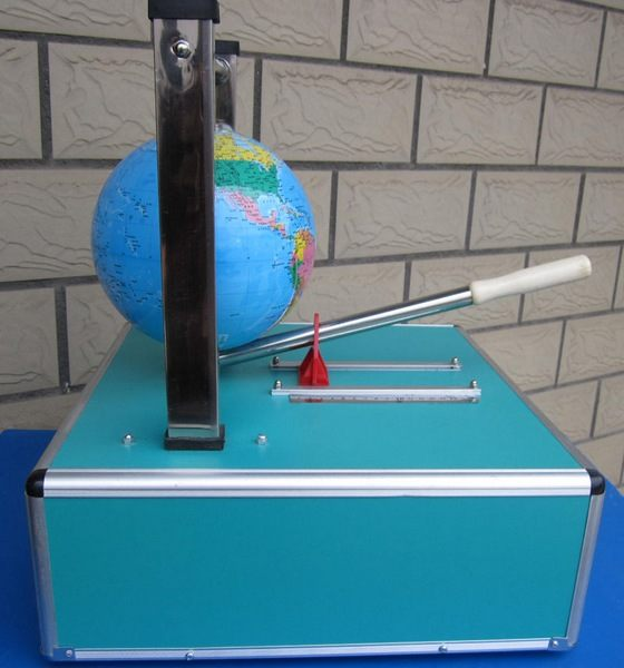 地球/撬地球,互动式科普展品撬地球,科教器材撬地球
