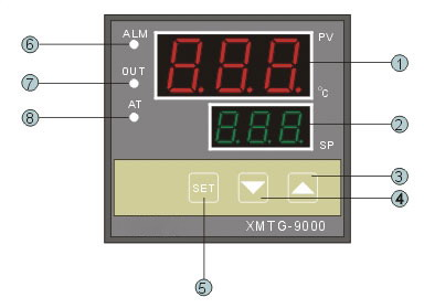 xmt-9000智能温控仪表