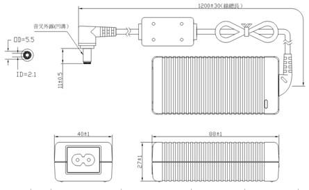 12v3a电源适配器,36w笔记本电源,电源变压器