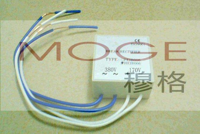 吊篮电机整流器接线图