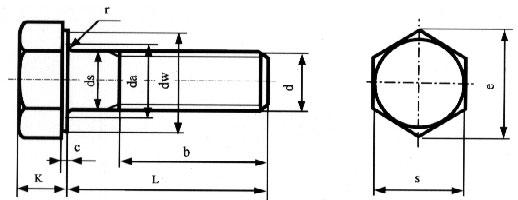 用来连接钢结构钢板的连接点,高强螺栓施加预拉力和靠摩擦力传递外力.