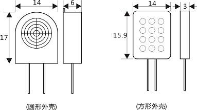 湿度传感器 chr02民用型湿敏电阻  chr02型湿度传感器元件,与进口湿敏