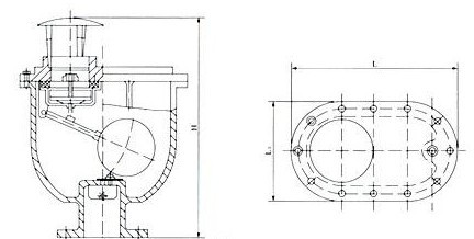 复合式排气阀结构图