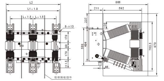 zn12-12/1250-20户内高压真空断路器