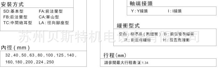 台湾君帆标准柱型液压缸图片