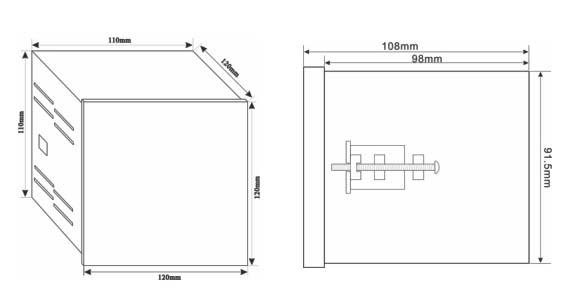 cd194e-2s4三相四线电度表带rs485通讯接口