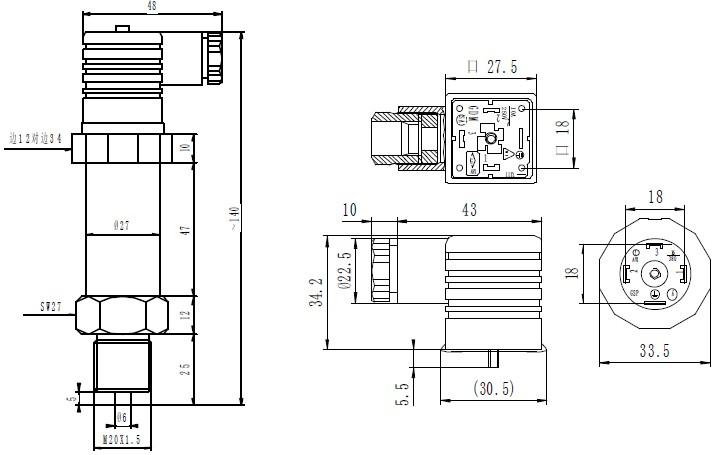 220v稳压保护器电路图