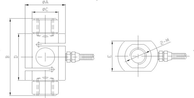 称重传感器/拉压力传感器/s型传感器