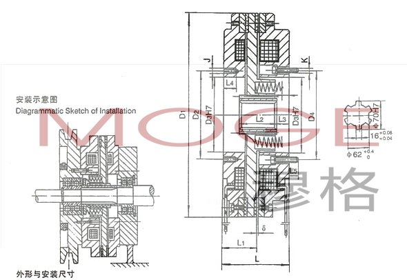 dlz2-120,dlz2-180,电磁离合制动器