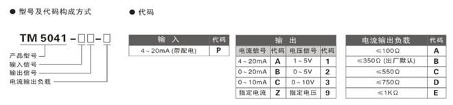 tm5041变送器电流信号配电隔离安全栅接线图