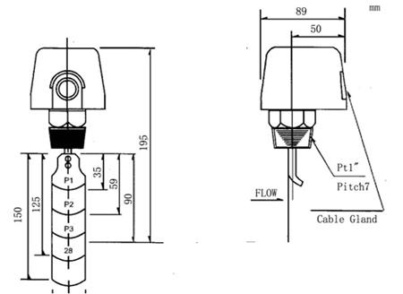 mskfa-1025水流量开关 - 仪器交易网