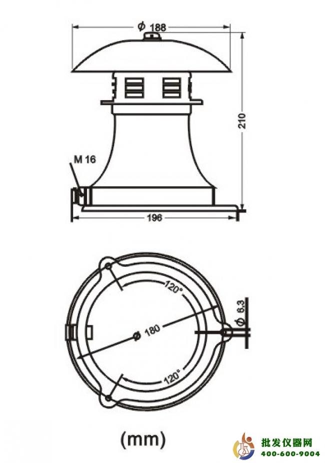 供应 实验室常用设备 其他实验室常用设备 工业警报器lk-ct-1  电 压v
