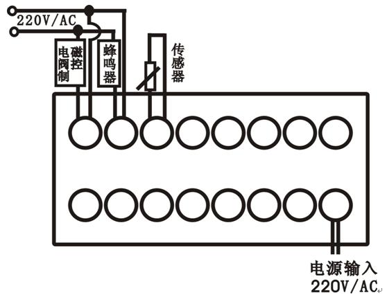 中式蒸饭柜控制器ew-c201接线图