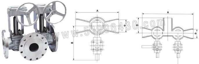 进口带信号反馈电磁阀 rbt进口自力式流量调节阀  进口单(双)冲洗旋塞