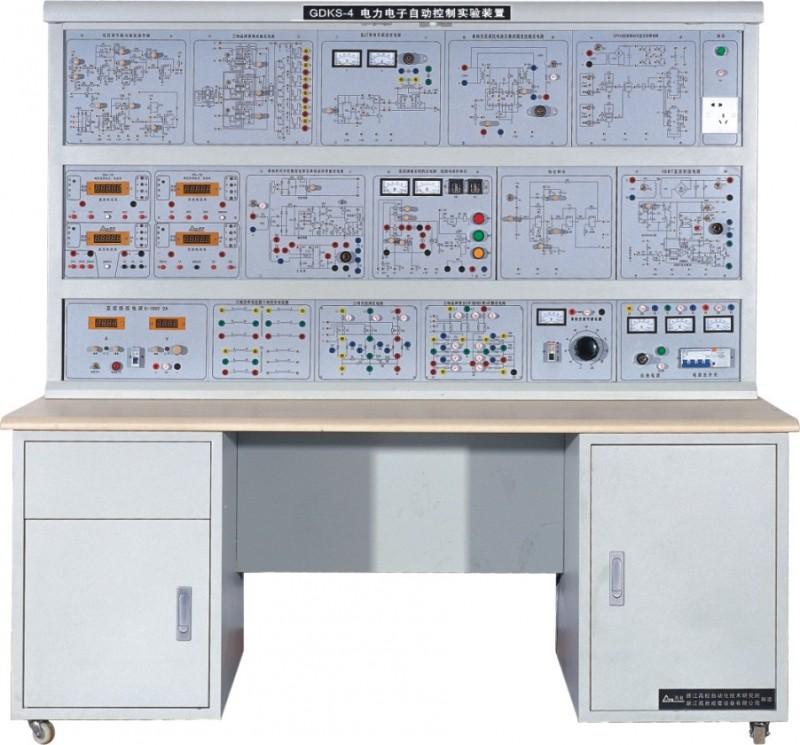 它的特点和功能现简介如下: (一)、六个小系统与二个大系统基本上概括了当前工业上常用的电力电子器件,触发(驱动)电路,常见的主电路和控制对象。实验时数为40学时左右,这些实验项目都是经过精心挑选和设计的。以集成模块构成的电路为主,也有分列元件电路,也有整机的整定与使用。这些实验完成后,对学生知识巩固和应用、对学生能力的提高,将起到很大的作用。 (二)、小系统的好处: 1、各单元在系统中的地位与作用清晰,使学生知道该单元用于何处和怎样进行整定、调试,有利搞清单元参数对系统性能的影响。 2、小系统(每个单元箱