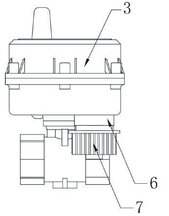 技术资讯 > 带阀控预付费远传容积式水表  该实用新型的控制阀结构